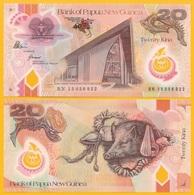 Papua New Guinea20 Kina P-49 2015 Commemorative UNC Polymer Banknote - Papouasie-Nouvelle-Guinée