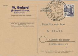 Kenzingen 1949 700 Jahre Breisgau Baden - Zone Française