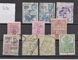 Fiscaux MONDE  N3--BELGIQUE - Stamps