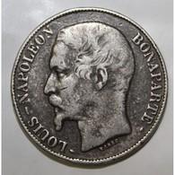 GADOURY 726 - 5 FRANCS 1852 A Paris TYPE LOUIS NAPOLEON BONAPARTE - FAUX - KM 773 - TTB - J. 5 Francs