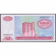 TWN - AZERBAIJAN 18b - 100 Manat 1999 Prefix BA UNC - Azerbaigian