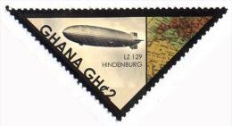 Ghana 3366 Zeppelin Hindenburg - Zeppelins