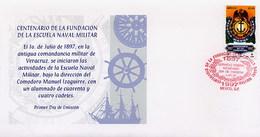 MESSICO - MEXICO - FDC 1997  -  FUNDACION ESCUELA NAVAL MILITARE - Messico