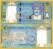 Oman 20 Rials P-46 2010 UNC Banknote - Oman