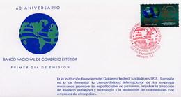MESSICO - MEXICO - FDC 1997  -  BANCO NACIONAL COMERCIO EXTERIOR - Messico