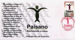 MESSICO - MEXICO - FDC 1996  -  PAISANO  Bienvenido A Casa - Messico