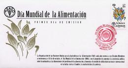 MESSICO - MEXICO - FDC 1996  -  DIA MUNDIAL De La ALIMENTACION - Messico