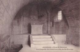 AM04 Avignon, Pont St. Benezet, La Chapelle Des Bateliers Dite De St. Nicolas - Avignon
