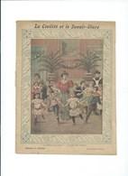 La Civilité Et Le Savoir-Vivre La Toilette Et La Mode Bien Protège-cahier Couverture   225 X 170  3 Scans  Garnier - Protège-cahiers