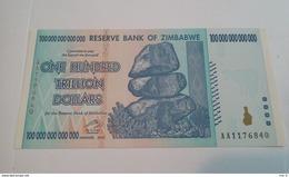 Zimbabwe 100 Trillion Unc BEST PRICE - Zimbabwe