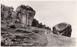 AN05 The Cow And Calf Rocks, Ilkley - RPPC - Bradford