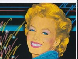AN05 Film Star - Marilyn Monroe - Athena Postcard - Actors