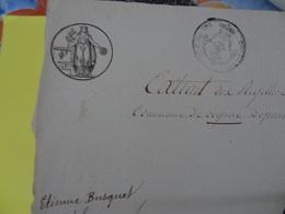 Mars 1817 Maire Otard De Cognac (Charente) Papier Timbré De 75c Naissance De Etienne Busquet En 1759 - Cachets Généralité