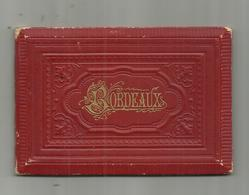33 BORDEAUX . SUPERBE PETIT  CARNET DE 14 PHOTOS . ECRIT EN FRANCAIS ET ANGLAIS   .  MARCELIN LACOSTE LIBRAIRE  BORDEAUX - Bordeaux
