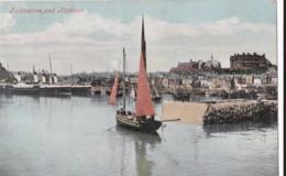 AN86 Folkestone And Harbour - 1905 Postcard, Postage Due - Folkestone