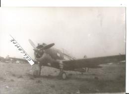 PHOTO AVION CURTISS H75 A IDENTIFIER  12X8CM3 - 1939-1945: 2a Guerra