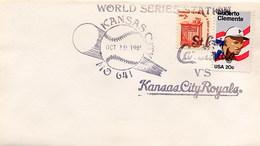 USA -  FDC 1985 - KANSAS CITY ROYALS  BASEBALL  -  WORLD SERIE - Baseball