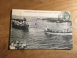 283/ La France Au Maroc Debarquement Des Troupes A Casablanca - Japon