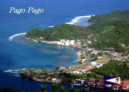 American Samoa Tutuila Island Pago Pago Aerial View New Postcard Amerikanisch-Samoa AK - Samoa Americana