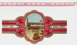 EINDHOVEN STATION Grande Bague De Cigare Derk De Vries - Tabak (verwante Voorwerpen)