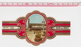 EINDHOVEN STATION Grande Bague De Cigare Derk De Vries - Tabac (objets Liés)