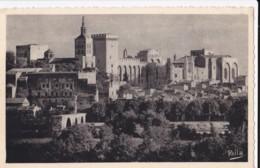 AN09 Avignon, Le Pont Saint Benezet Et Le Palais Des Papes - Avignon