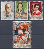 België/Belgium/Belgique/Belgien 1974 Mi: 1760-1763 Yt: 1701-1704 (PF/MNH/Neuf Sans Ch/nuovo Senza C./**)(4301) - België