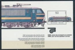 België/Belgium/Belgique/Belgien 1985 Mi: Block 55 (PF/MNH/Neuf Sans Ch/nuovo Senza C./**)(4308) - Blokken 1962-....