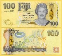 Fiji 100 Dollars P-114 2007 UNC Banknote - Fiji