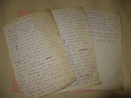 LETTRE-MANUSCRIT AUTOGRAPHE SIGNE D'ALFRED MORTIER 1928 POETE ROMANCIER JOURNALISTE à TREICH Sur LA POESIE - Manuscrits