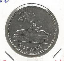 C9 Mozambique 20 Meticais 1980. - Mozambique