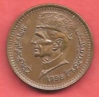 1 Rupee , PAKISTAN , Bronze , 1998 , N° KM # 62 - Pakistan