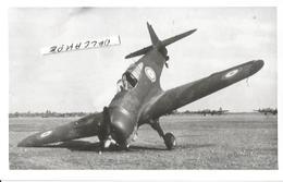 PHOTO AVION CURTISS H75 C1 CRASH   13X9CM - 1939-1945: 2a Guerra