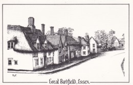 AS30 Brook Street, Gt. Barfield, Essex - Artist Signed PTF - England