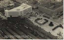 CPA ASIE - ASIA - VIEWS Of TOKYO STATION And VICINITY - Chemins De Fer