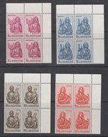 Switzerland 1961 Evangelisten 4v Bl Of 4 (corners) ** Mnh (42165) - Zwitserland