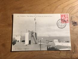 283/ Casablanca Poste Optique Sur La Terasse Du Consulat De France - Casablanca