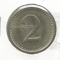 C9 Angola 2 Kwanzas 1977. ND - Angola