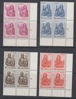 Switzerland 1961 Evangelisten 4v Bl Of 4 (corners, Sheet Number) ** Mnh (42166) - Zwitserland