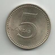 Angola 5 Kwanzas 1977. ND - Angola