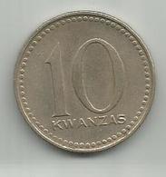 Angola 10 Kwanzas 1977. ND - Angola