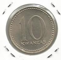 C9 Angola 10 Kwanzas 1977. ND - Angola