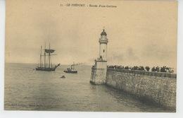 LE TREPORT - Entrée D'une Goëlette - Le Treport