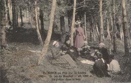 43 // AU LAC DU BOUCHET? UN GOUTER DANS LE BOIS  1892 - France