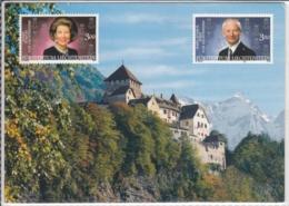 FL LIECHTENSTEIN  VADUZ  - Ganzsache - Liechtenstein
