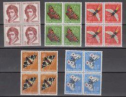 Switzerland 1955 Pro Juventute 5v Bl Of 4 ** Mnh (42167) - Pro Juventute