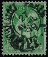 -Sage N°106 Type II   O.  PARIS JOURNAUX 27 Avril 1899. - 1876-1898 Sage (Type II)