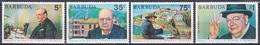 Barbuda 1974 Geschichte History Persönlichkeiten Politiker Winston Churchill Literatur Nobelpreis, Mi. 202-5 ** - Antigua & Barbuda (...-1981)