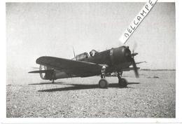 PHOTO AVION CURTISS H75 C1 N°76    PRET POUR DECOLLAGE   ARCHIVE ECPA  12X8CM - 1939-1945: 2a Guerra