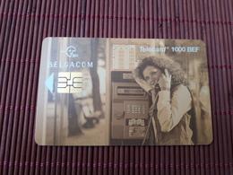 Phonecard Cabine 1000 Bef Number 31.07.99 Low Number  CI 00247 Used Rare - Belgique